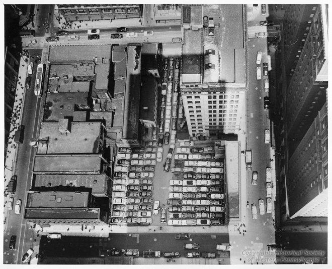 before Mellon Square