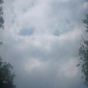 Cloud grin by Teri Clark